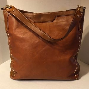 Michael Kors Brown Leather Tote LARGE Roomy